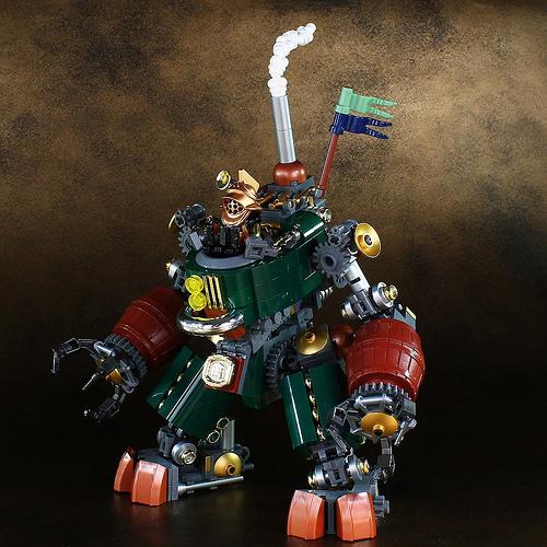Lego Steampunk Mech