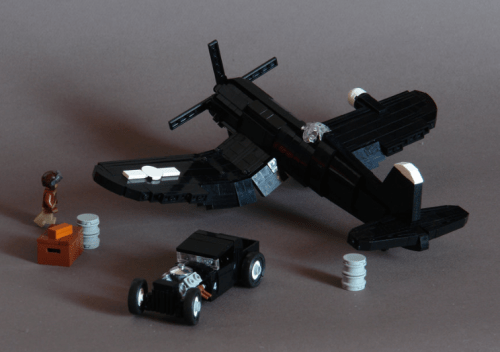 Lego Corsair Hot Rod Plane