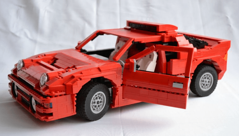 Lego Technic Ford RS200