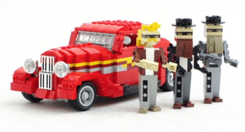 Lego ZZ Top Eliminator Hot Rod