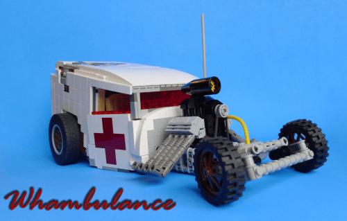 Lego Whambulance Hot Rod