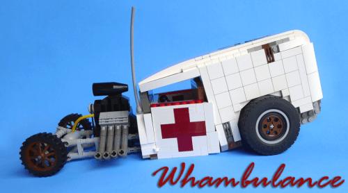 Lego Hot Rod Ambulance