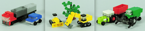 Lego Microscale Vehicles