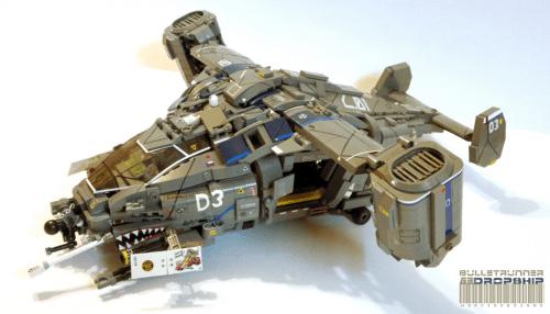 Lego Dropship