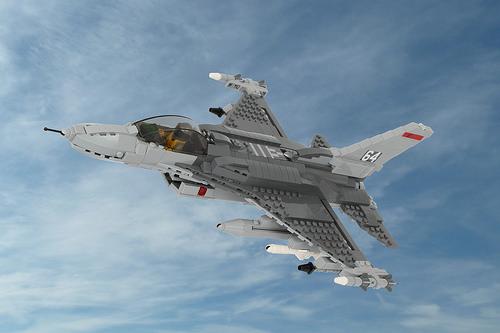 Lego F-16C Fighter