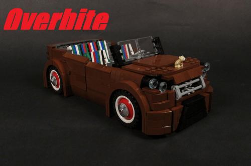 Lego Kia Soul Rat Rod