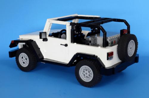 Lego remote Control Jeep 4x4