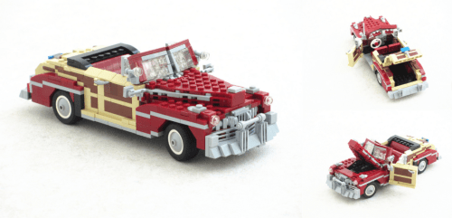 Lego Mercury Sportsman Convertible
