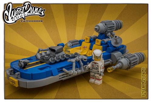 Lego Star War Landspeeder Hot Rod