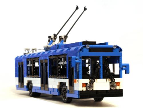 Lego Trolleybus Remote Control