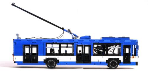 Lego Technic ZiU-9 Trolleybus