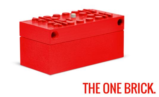 Lego The One Brick Remote Control