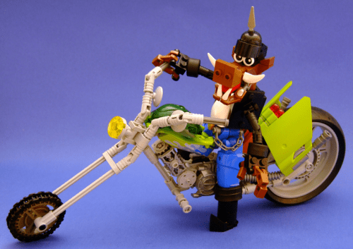 Lego Road Hog Motorbike