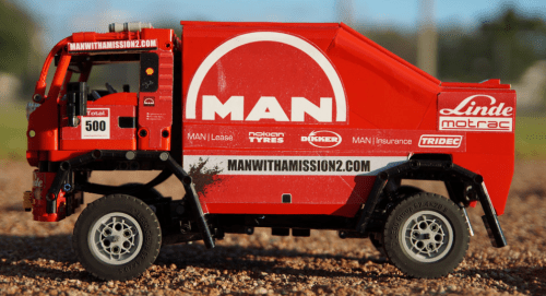 Lego MAN Dakar Rally Truck