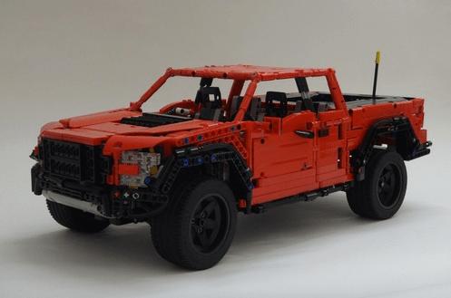 Lego Technic Ford Raptor Remote Control