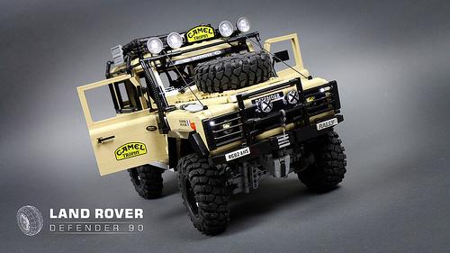 Lego Land Rover Defender 4x4 Remote Control