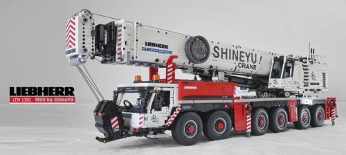 Lego Liebherr Remote Control Crane