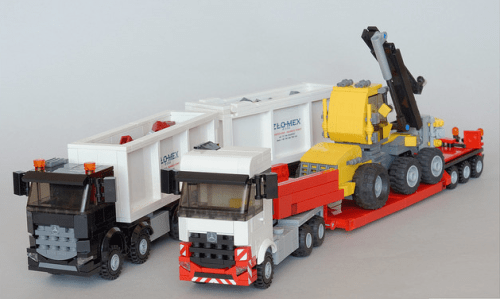 Lego Mercedes-Benz Arocs Trucks
