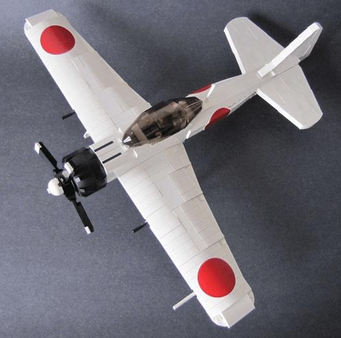 Lego Mitsubishi Zero