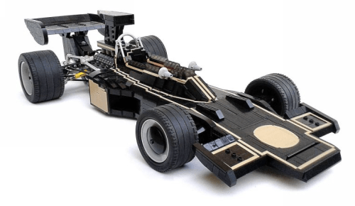 Lego Lotus Ford 72D JPS