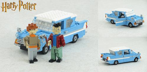 Lego Ford Anglia Harry Potter