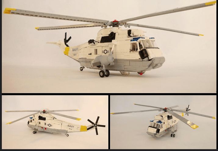 Lego Sea King Helicopter