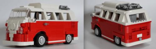 Lego Volkswagen T1 Camper RC