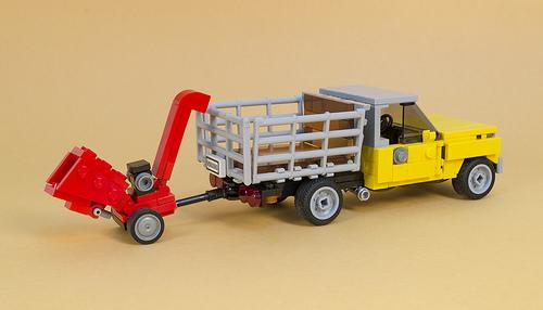 Lego Farm Truck