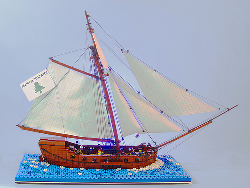 Lego Privateer Oliver Cromwell ship