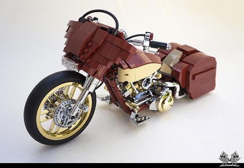 Lego Harley Davidson Street Glide Custom