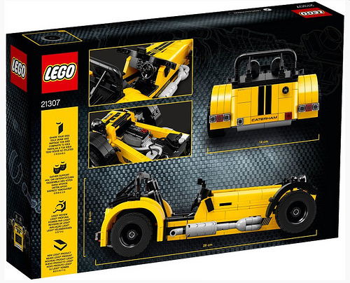 Lego 21307 Caterham 7 Review