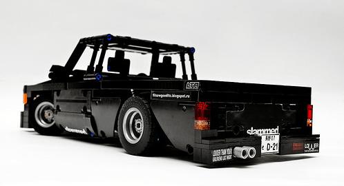 Lego Datsun Nissan D21 Hardbody Pick-Up