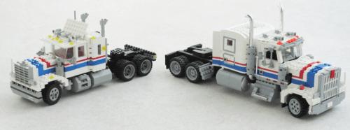 Lego Kenworth W900 Highway Rig