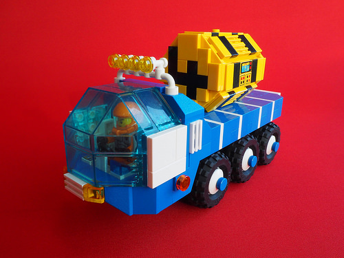 Lego Space Lorry