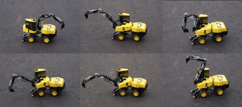 Lego Technic RC Mecalac MTX