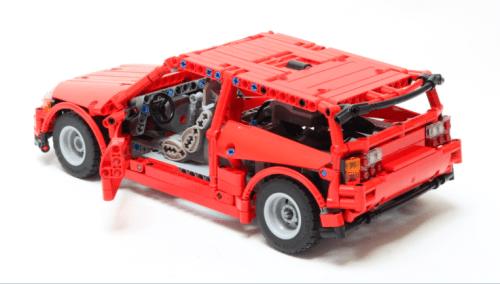 Lego Technic RC Honda Civic