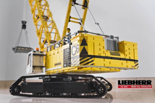 Lego Liebherr Crane RC