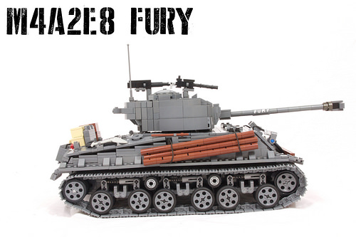 Lego Fury Tank RC