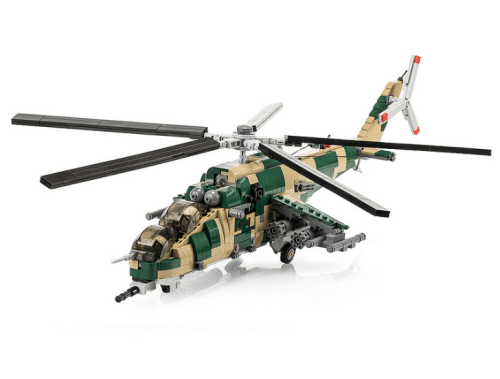 Lego Mi-24 Hind Helicopter