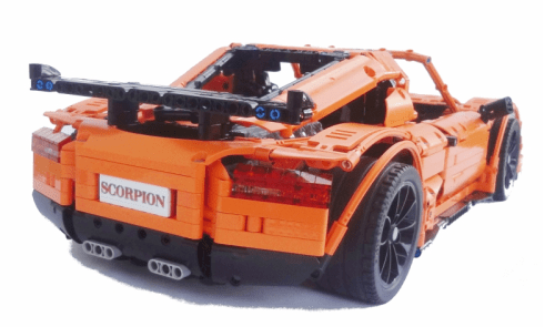 Lego Technic Crowkillers Scorpion Supercar
