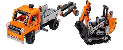 Lego Technic 42060 Roadwork Crew