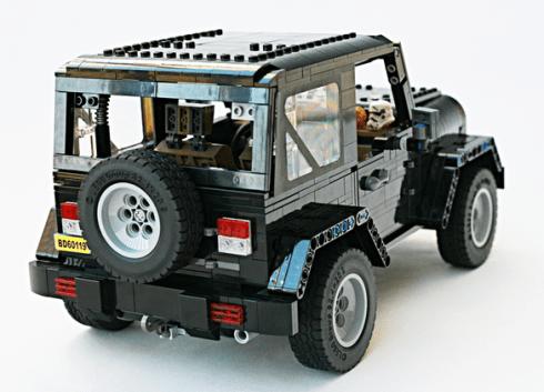 Lego Jeep 4x4