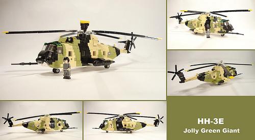 Lego Sikorsky S-61R