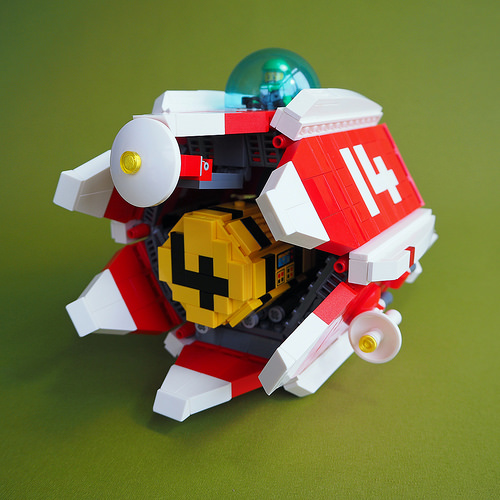 Lego Space Freighter