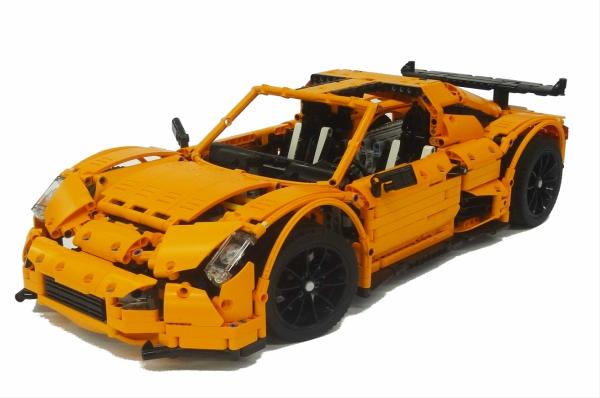 Lego Technic Scorpion Supercar Crowkillers
