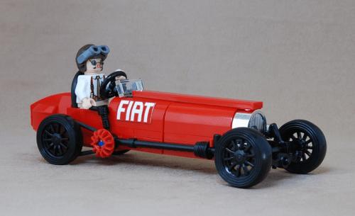 Lego FIAT Grand Prix Racer