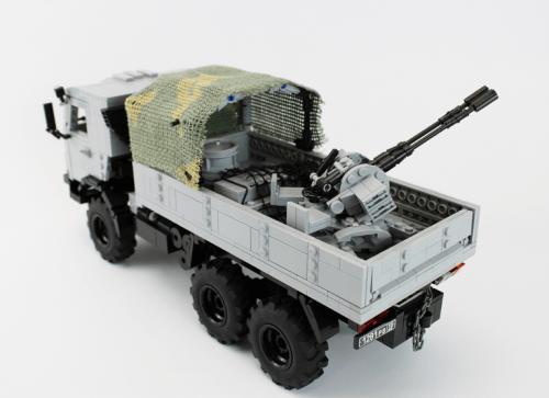 Lego KamAZ-4310 and ZU-23-2