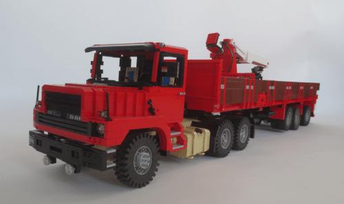 Lego DAF 2800 Truck