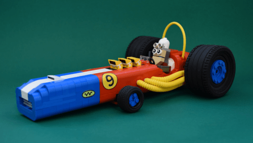 Lego Wacky Races Turbo Terrific