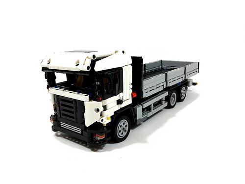 Lego Technic Flatbed Truck RC